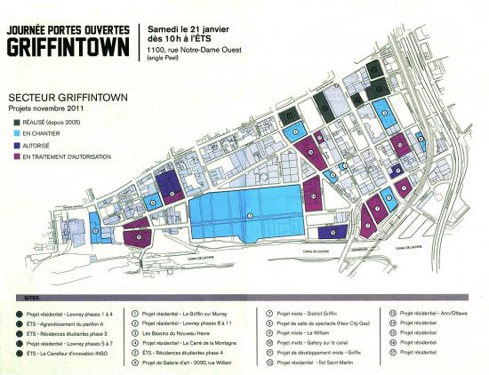 Griffintown plan 2012