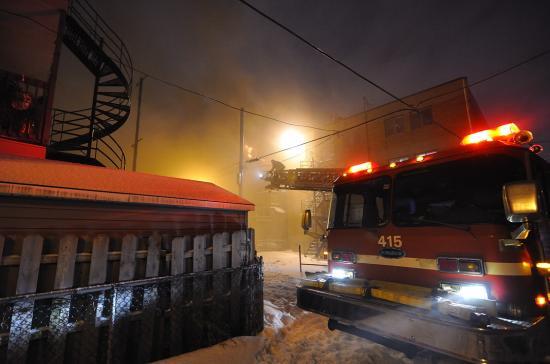 Электричество в канадском доме и пожар - 2