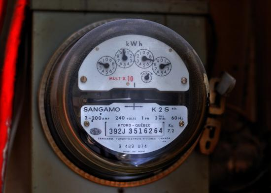Hydro Quebec meter - счётчик электроэнергии в Квебеке
