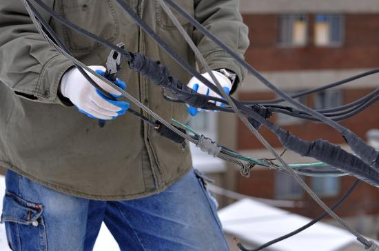 Провода на крыше 20120227 - 4