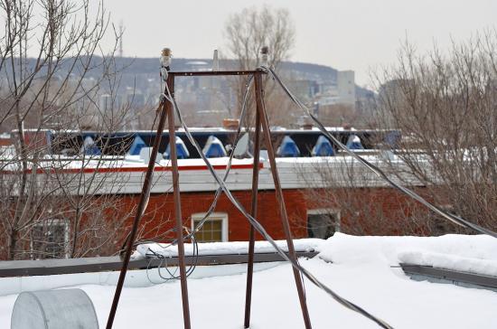Провода на крыше 20120227 - 7