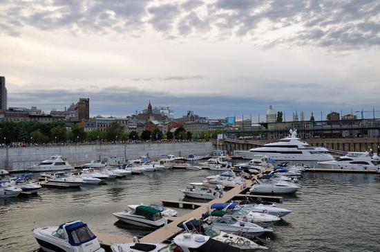 Монреаль, Старый порт, набережная