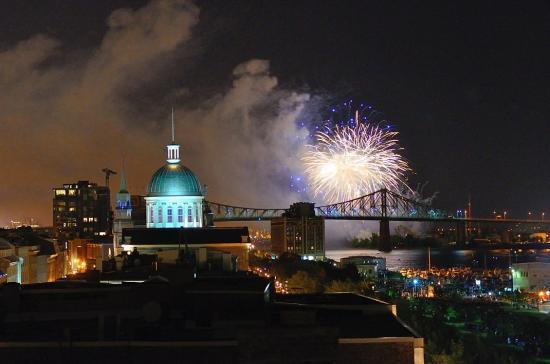 Terrasse sur L'Auberge du Vieux Port, Montreal 20120727 - 26