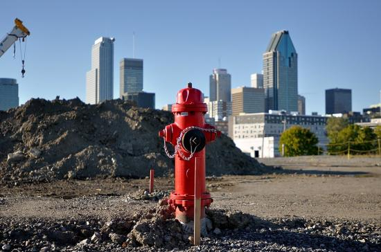 Griffintown, Montreal, Fire pump 2012-09