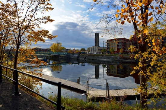 Canal Lachine, Atwater market, Pointe Saint-Charles 2012-10-17