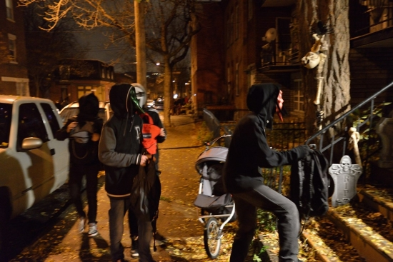 Halloween, Montreal - Pointe Saint-Charles 2012 - 17