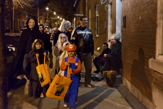 Halloween, Montreal - Pointe Saint-Charles 2012 - 23