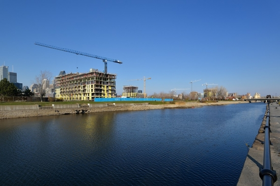 Griffintown, Canal Lachine, Montreal 2012-11-16
