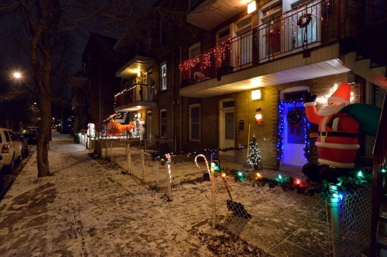 Первый снег в Монреале 2012-11-29