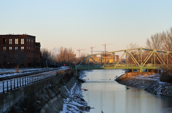Montreal, Atwater Market and Canal Lachine, Dec 15, 2012 - 2