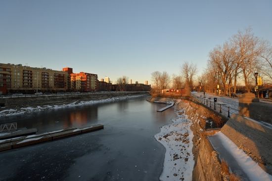 Montreal, Atwater Market and Canal Lachine, Dec 15, 2012 - 12