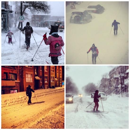 Монреаль - снег 2012-12-27 - 1