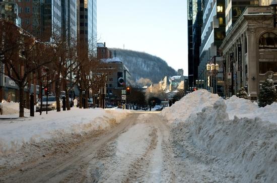 Montreal после снегопада 2012-12-28 - 1
