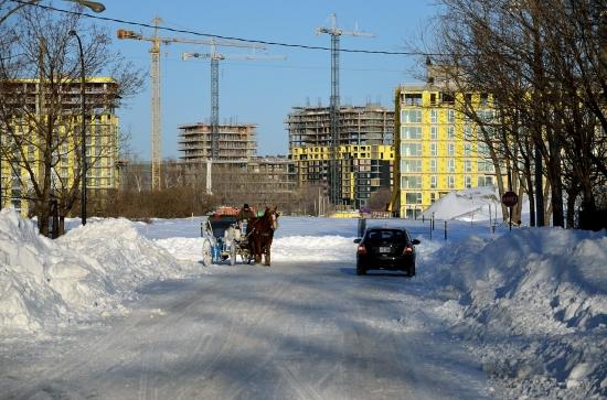 Montreal после снегопада 2012-12-28 - 2