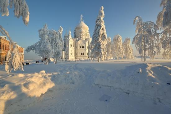 Белогорский Свято-Николаевский монастырь. Пермский край, 9 января 2013