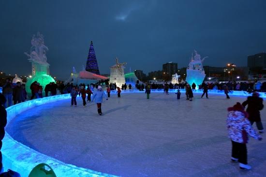 Ледяной городок, Пермь 6 января 2013 - 2