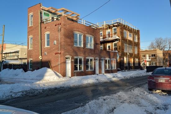 Деревянный кирпичный дом в Монреале 2013-02-27 - 5