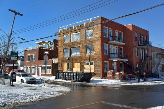 Деревянный кирпичный дом в Монреале 2013-02-27 - 7