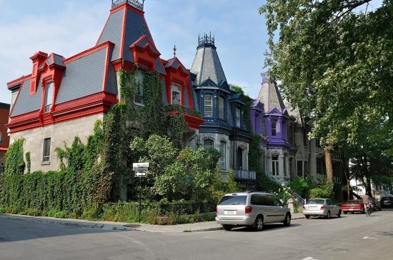 Деревянный кирпичный дом в Монреале 2013-02-27 - 12