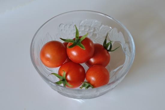 Первые  помидорки