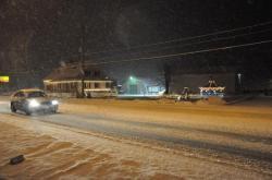 Снег по улице 13 дек. 2009