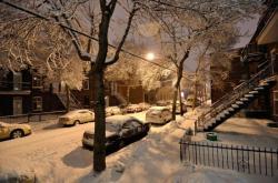 Снег в Монреале 24 февраля 2012 - 3