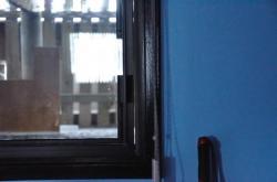 Fireplace-window
