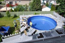 New liner pool -  4