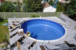 New liner pool -  5
