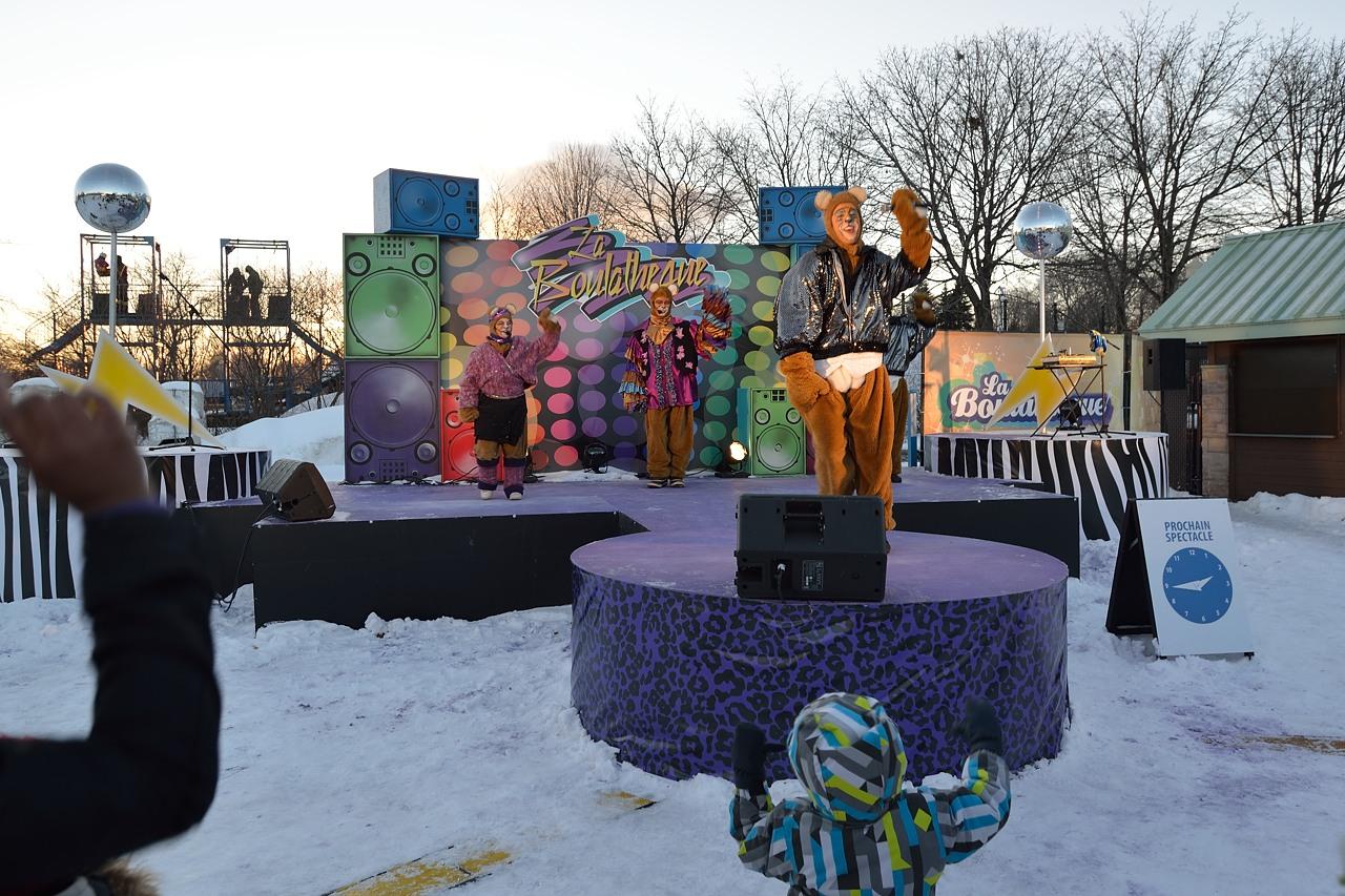 Fête des neiges de Montréal au Parc Jean-Drapeau, Snow Village 2013-01-20 - 1