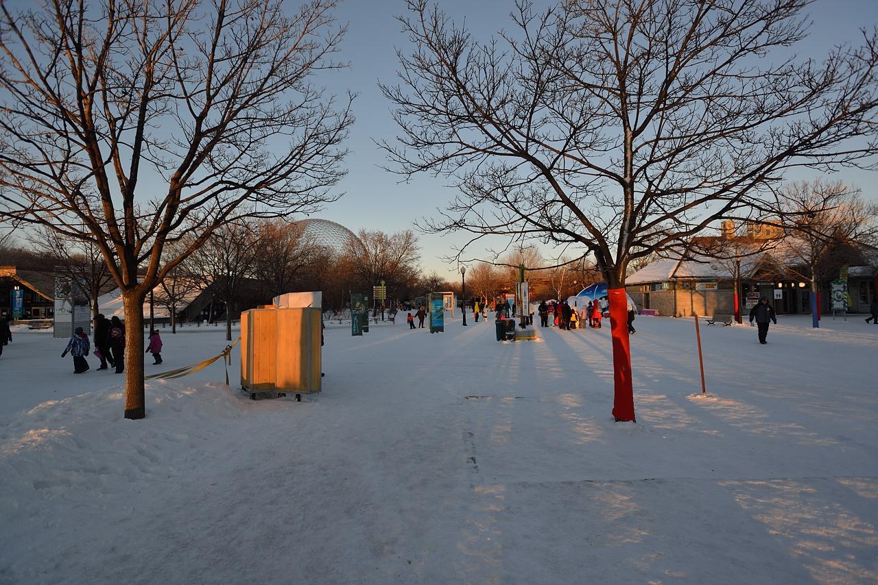 Fête des neiges de Montréal au Parc Jean-Drapeau, Snow Village 2013-01-20 - 2