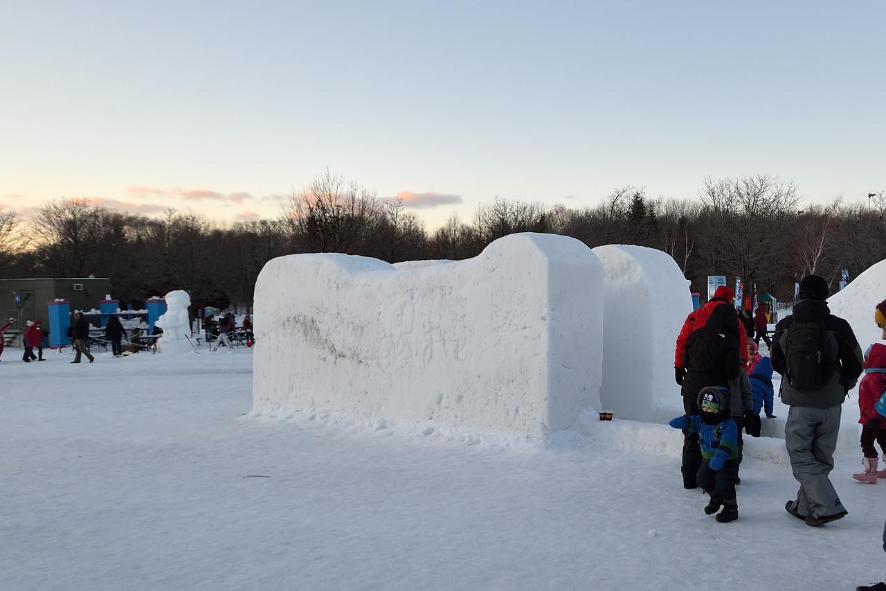 Fête des neiges de Montréal au Parc Jean-Drapeau, Snow Village 2013-01-20 - 4