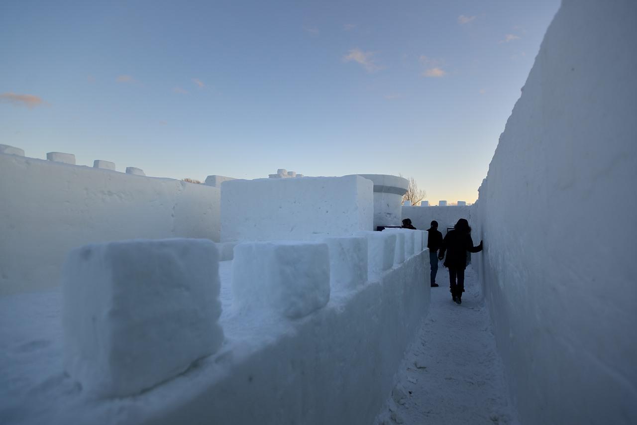 Fête des neiges de Montréal au Parc Jean-Drapeau, Snow Village 2013-01-20 - 5