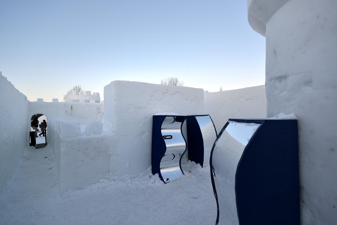 Fête des neiges de Montréal au Parc Jean-Drapeau, Snow Village 2013-01-20 - 6