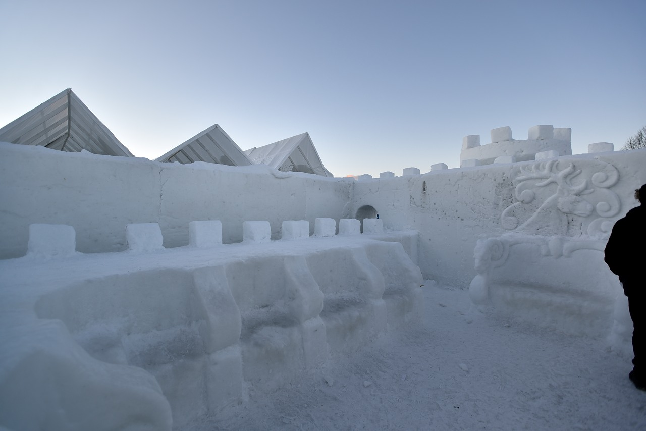 Fête des neiges de Montréal au Parc Jean-Drapeau, Snow Village 2013-01-20 - 7