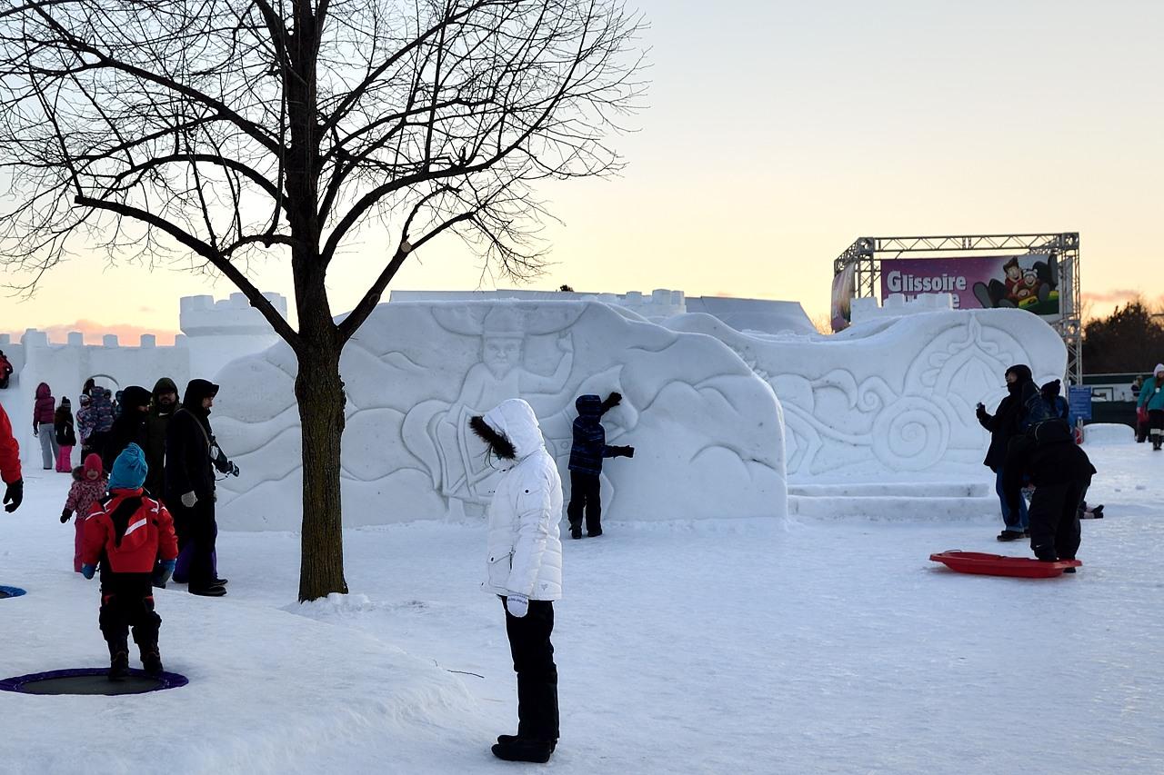 Fête des neiges de Montréal au Parc Jean-Drapeau, Snow Village 2013-01-20 - 13