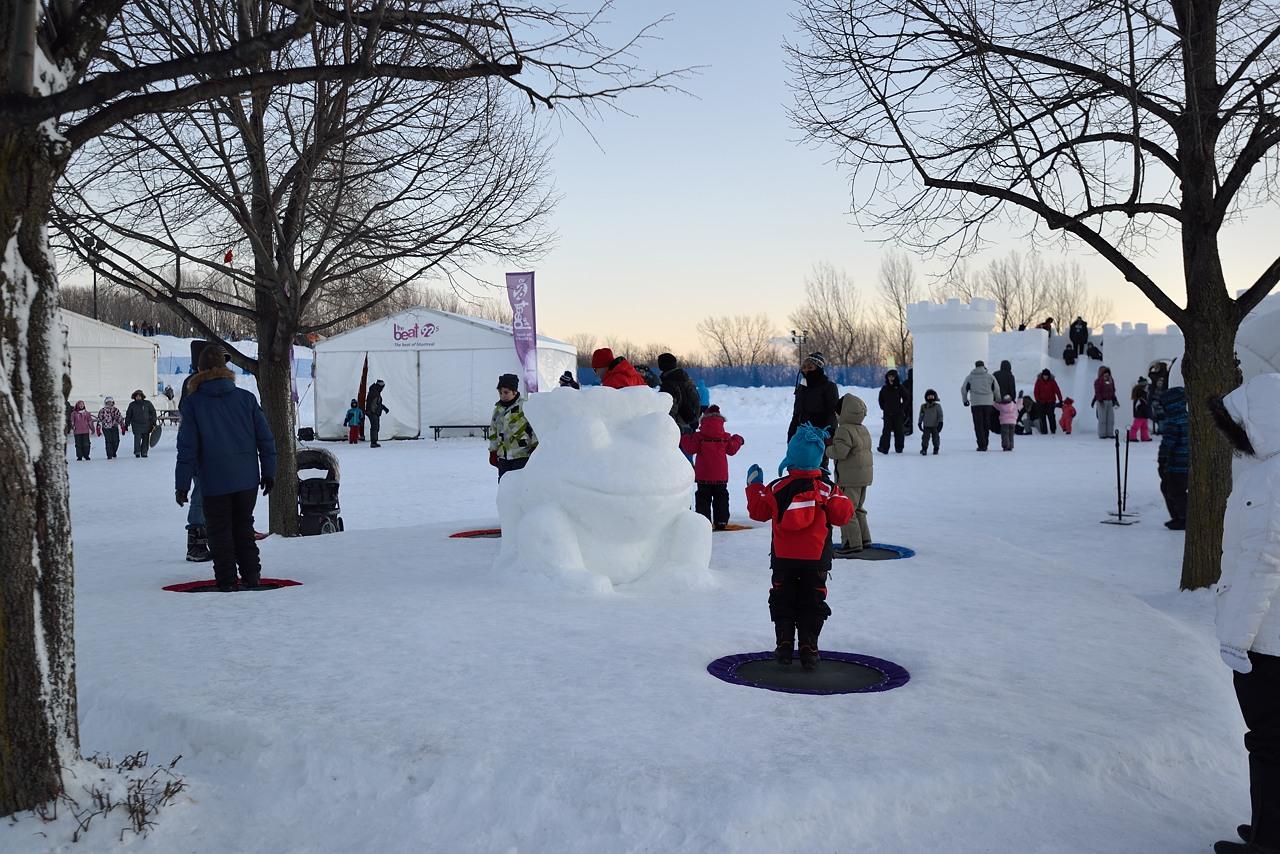 Fête des neiges de Montréal au Parc Jean-Drapeau, Snow Village 2013-01-20 - 14
