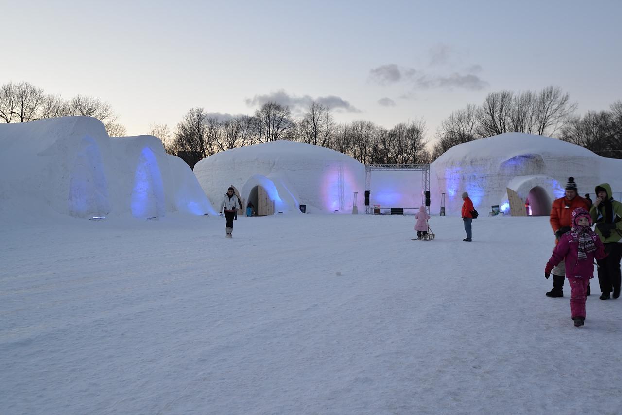 Fête des neiges de Montréal au Parc Jean-Drapeau, Snow Village 2013-01-20 - 16