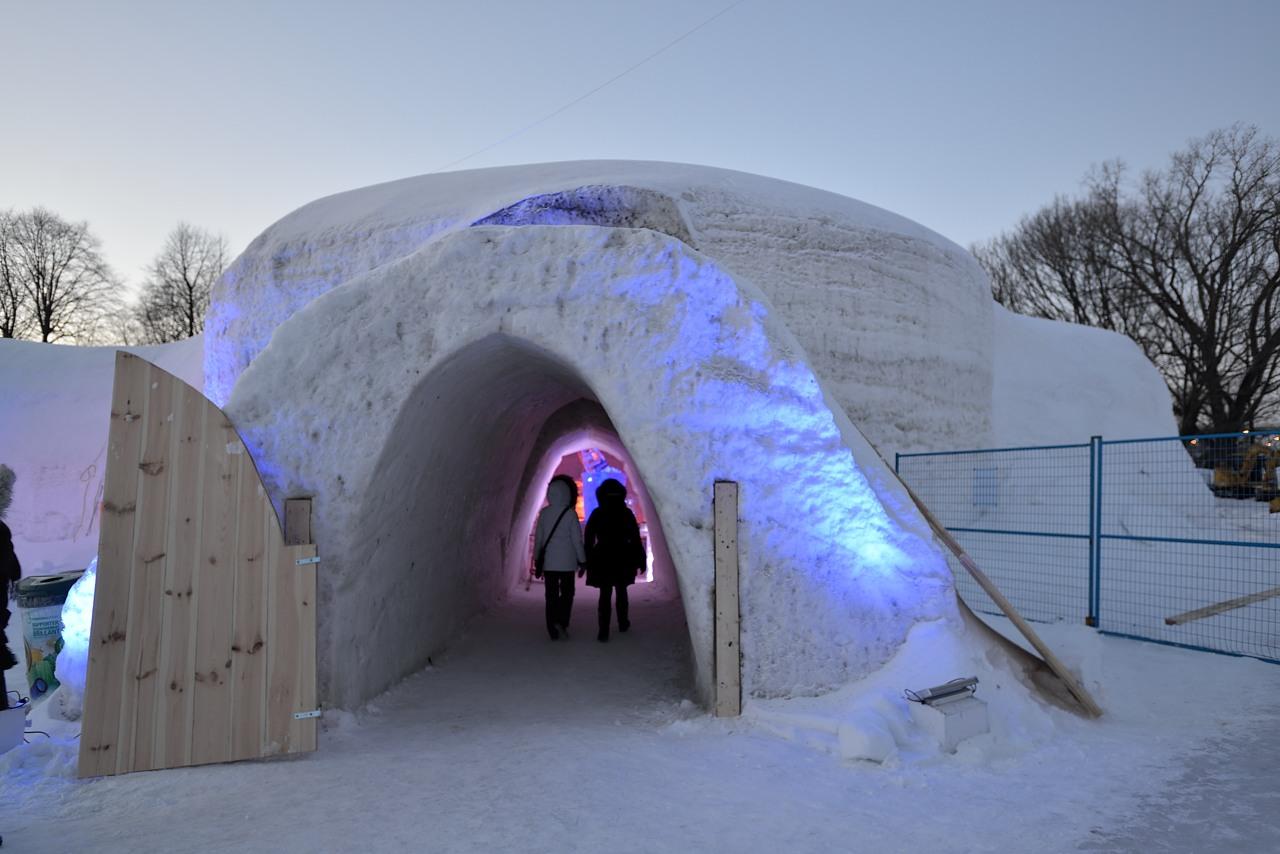 Fête des neiges de Montréal au Parc Jean-Drapeau, Snow Village 2013-01-20 - 17