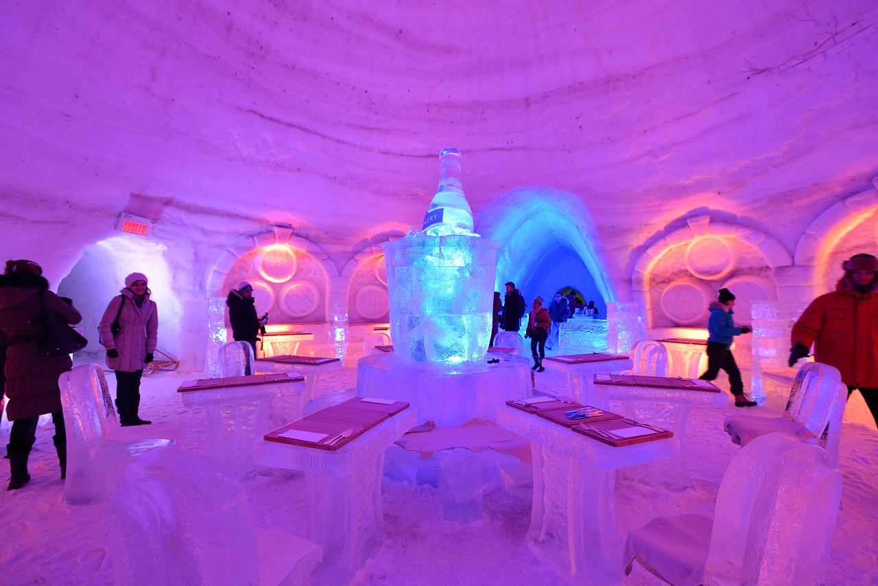 Fête des neiges de Montréal au Parc Jean-Drapeau, Snow Village 2013-01-20 - 20