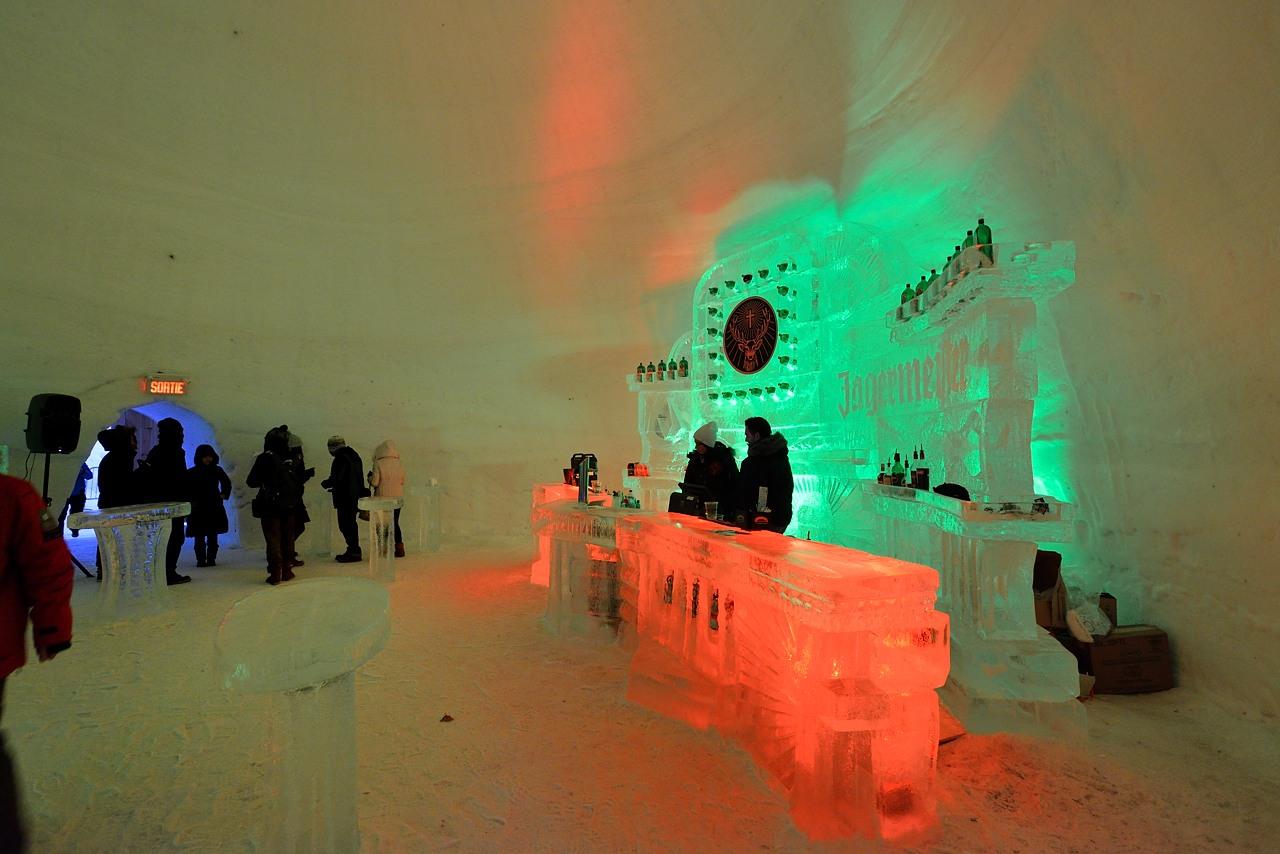 Fête des neiges de Montréal au Parc Jean-Drapeau, Snow Village 2013-01-20 - 23