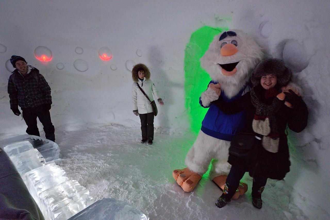 Fête des neiges de Montréal au Parc Jean-Drapeau, Snow Village 2013-01-20 - 27