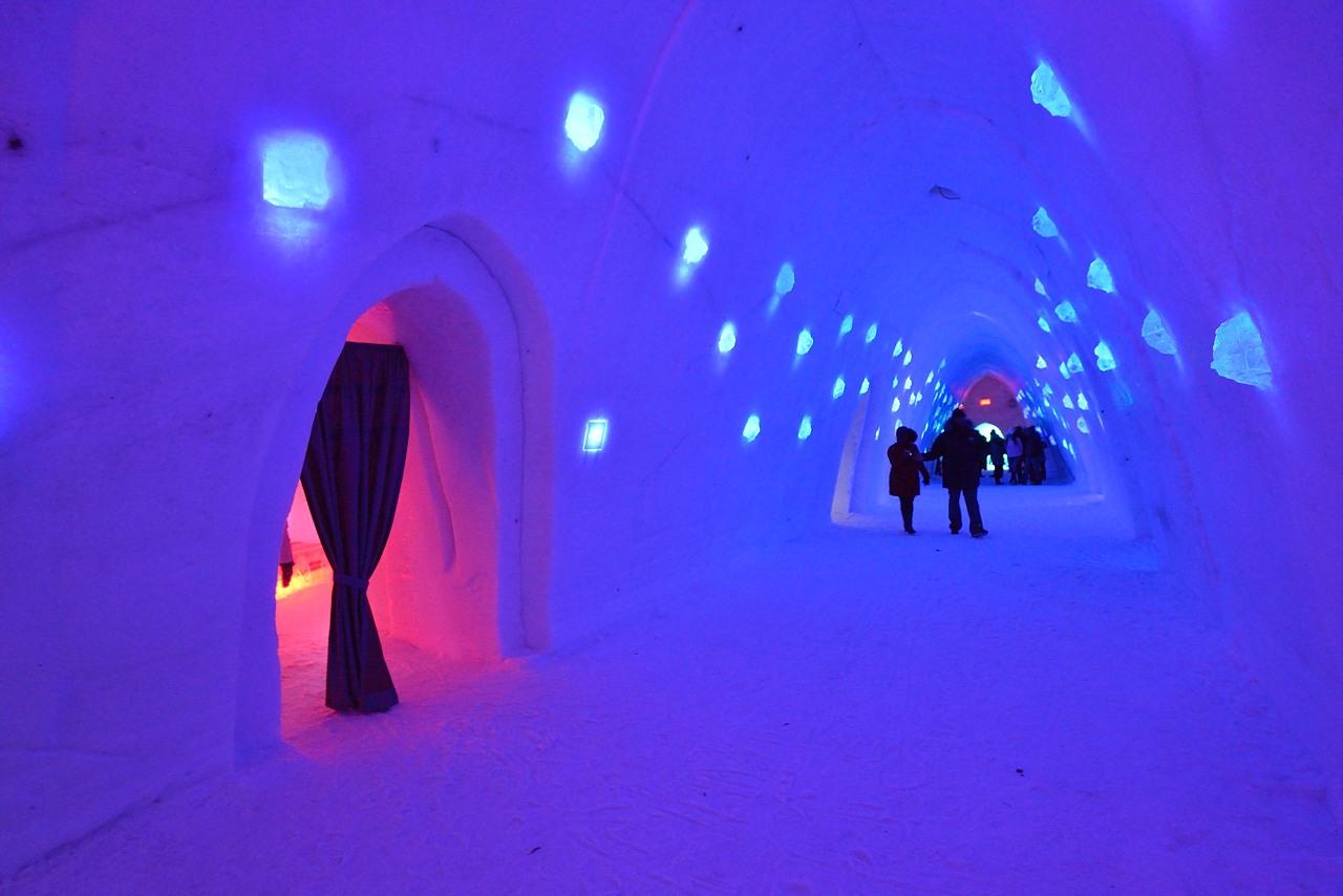 Fête des neiges de Montréal au Parc Jean-Drapeau, Snow Village 2013-01-20 - 31