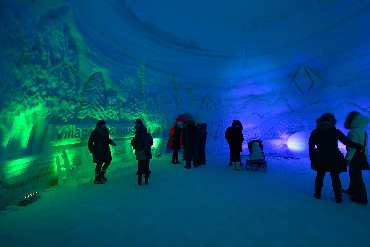Fête des neiges de Montréal au Parc Jean-Drapeau, Snow Village 2013-01-20 - 40
