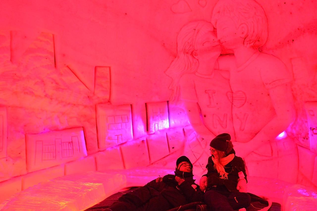 Fête des neiges de Montréal au Parc Jean-Drapeau, Snow Village 2013-01-20 - 48