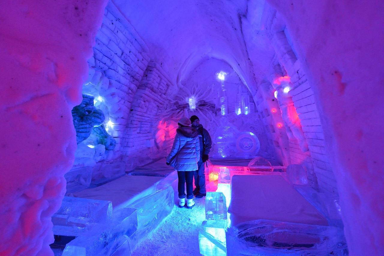 Fête des neiges de Montréal au Parc Jean-Drapeau, Snow Village 2013-01-20 - 49