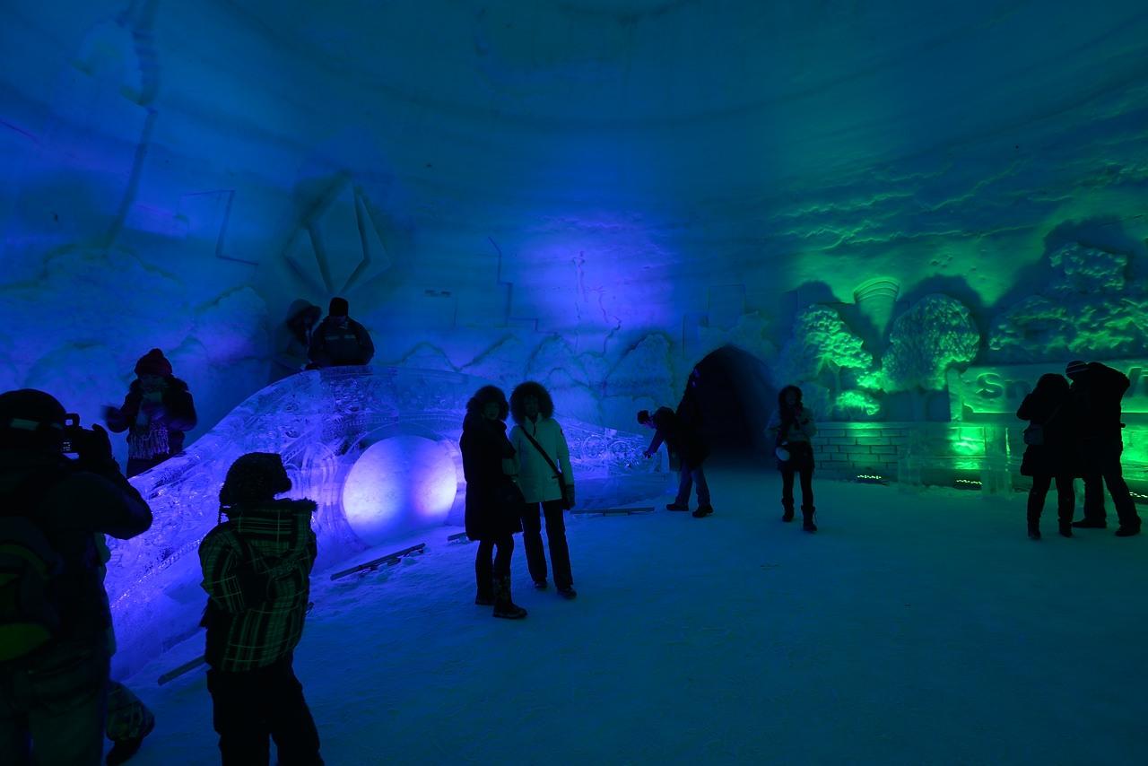 Fête des neiges de Montréal au Parc Jean-Drapeau, Snow Village 2013-01-20 - 53