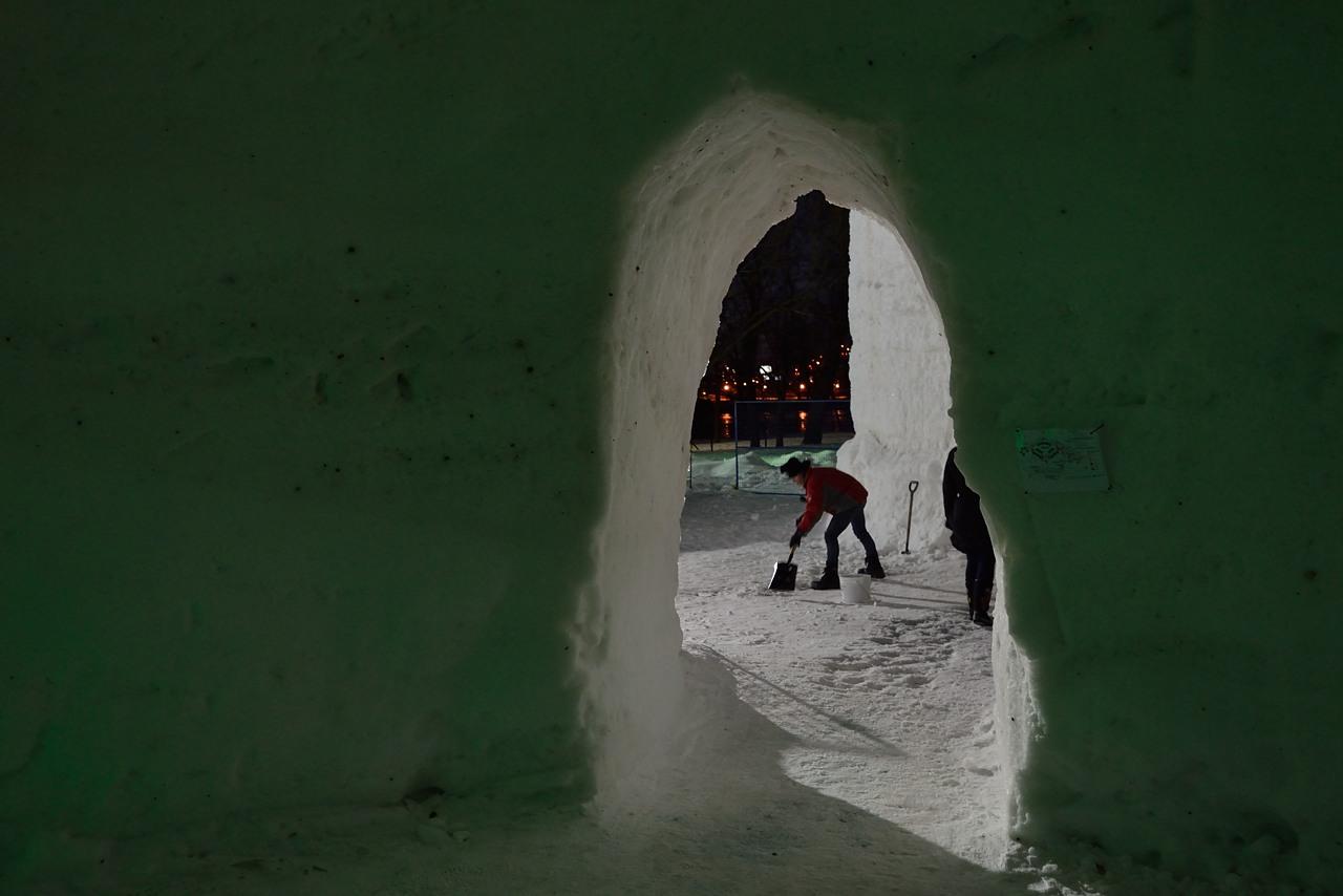 Fête des neiges de Montréal au Parc Jean-Drapeau, Snow Village 2013-01-20 - 54