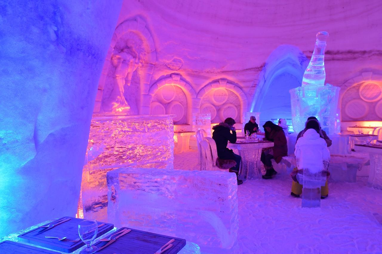 Fête des neiges de Montréal au Parc Jean-Drapeau, Snow Village 2013-01-20 - 57
