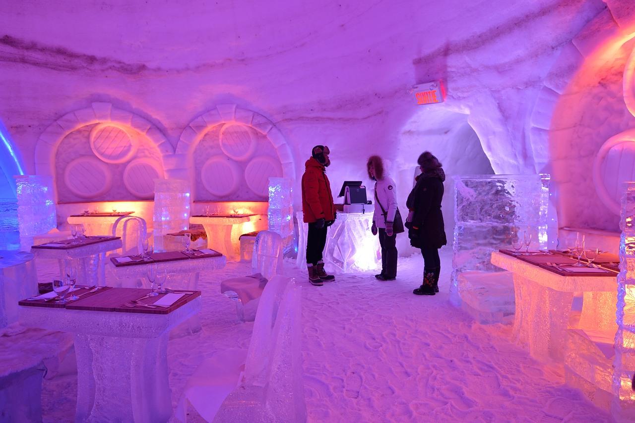 Fête des neiges de Montréal au Parc Jean-Drapeau, Snow Village 2013-01-20 - 58